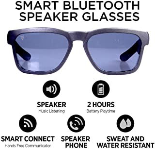 GoVision Kaleo Smart Glasses | Bluetooth Sunglasses | Wearable Technology Headphones - Listen to Music, take Calls and Send Texts-