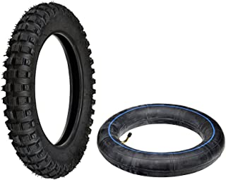 AlveyTech Tire and Tube Package (2.50-10) for the Razor Dirt Bike MX500 MX650 and Motovox MVX70 MVX110 and Baja Dirt Runnner DR49