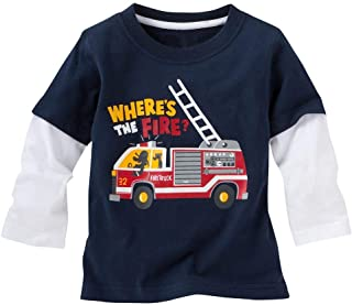 Baby Boy/Toddler/Kid's Long Sleeve T-Shirts(2-6 Years)