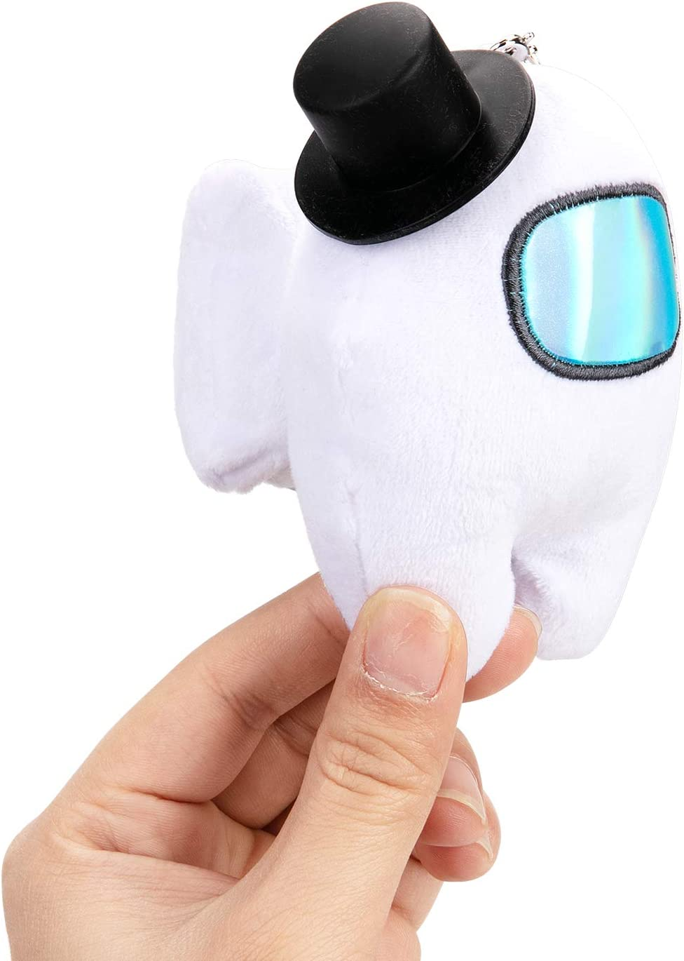 Among Plush Soft Toy Pack of 1 Small Adorable Doll Toy Gift Cyan Cute Astronaut Stuffed Plush Figures Plushiest Gifts for Game Fans 3.6 Inch