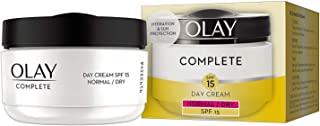 Olay Essentials Complete Care Day Cream SPF 15 for Normal and Dry Skin, 1.7 Ounce
