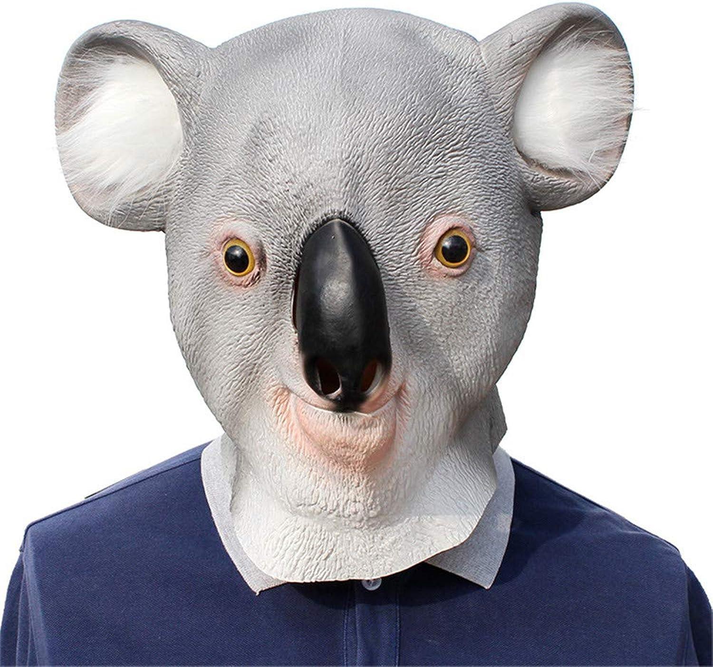 JTWJ Halloween Latex Mask Christmas Ball Koala Styling Mask Party Supplies
