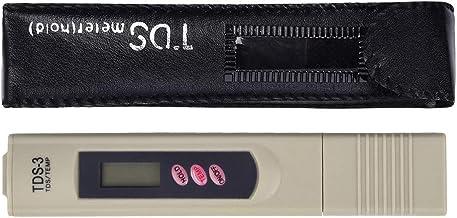 Yd-1H 0-9999Mg // L Balacoo Refract/ómetro Digital de Salinidad Medidor de Salinidad Medidor de Salinidad Medidor de Pluma para Piscina de Agua Salada