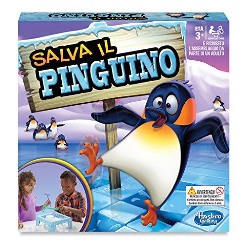 Hasbro Gaming - Salva il pinguino (Gioco in Scatola), C2093103