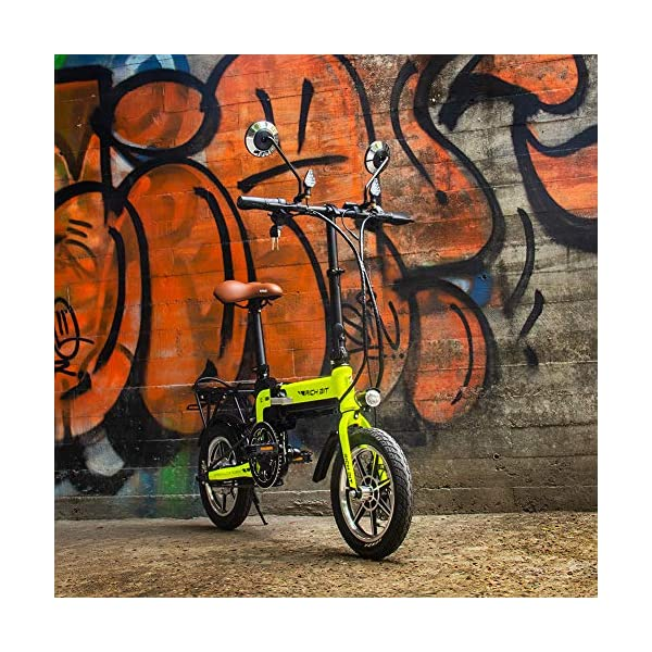 Electric Bikes RICH BIT TOP-619 Electric Bike 36V 250W 10.2Ah Ebike 14 inch Electric Folding Bicycle