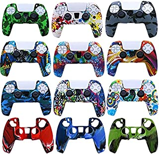 ICYSTOR Soft Silicone Gel Rubber Cover Case For Playstation 5 PS5 Controller Protection Skin Anti-slip For PS 5 Gamepad case