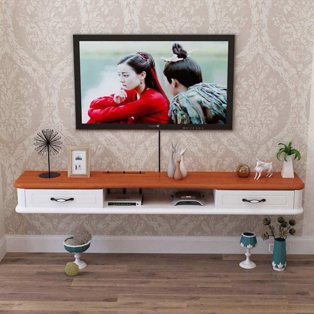 Soporte flotante para TV Estante de audio / video montado en la pared Consola de audio / video