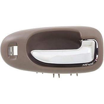 Amazon Com Door Handle For 2001 2006 Chrysler Sebring Sedan Front Right Inner Light Gray Automotive