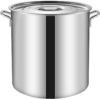 Seau à Soupe en Acier Inoxydable 304, réservoir de Stockage d'huile Conteneur pour la Farine et Le Sucre Commercial Eau ép...