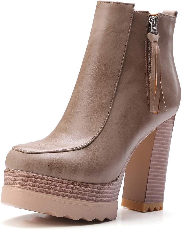 Urethane High Heels Platform Mule Womens Boots BalaMasa