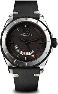 Armand Nicolet Gents-Wristwatch S05 GMT Date Analog Automatic A713AGN-NR-PK4140NR