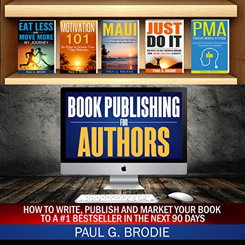 Book Publishing for Authors audiobook cover art