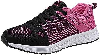 comprar comparacion Zapatillas de Deporte Respirable para Correr Deportes Zapatos Running Cojines de Aire Calzado Mecedora Net para Estudiante...
