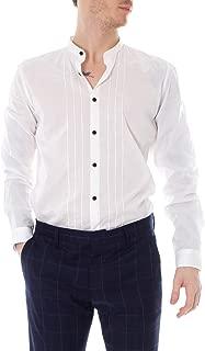 Antony Morato Long Sleeve Shirts Man Mandarin Neck MMSL00535-FA400014