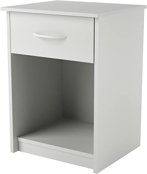 Ameriwood Home Core Nightstand White