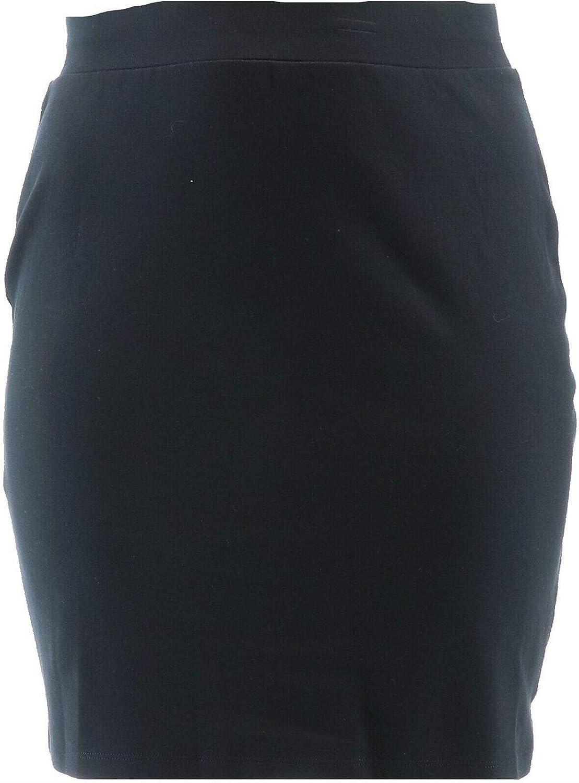 Isaac Mizrahi Essentials Pull-On 卸直営 Pencil A375022 最新号掲載アイテム Skirt Knit