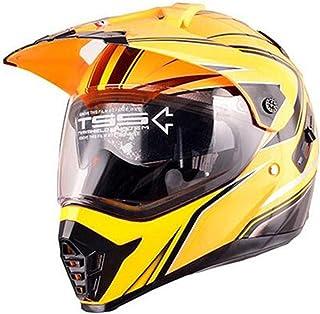 Free Shipping Motorcycle Helmet With Sun Shield Atv Road Cross Motocross Helmet Double Lens Off Road Racing Moto Helmets X...