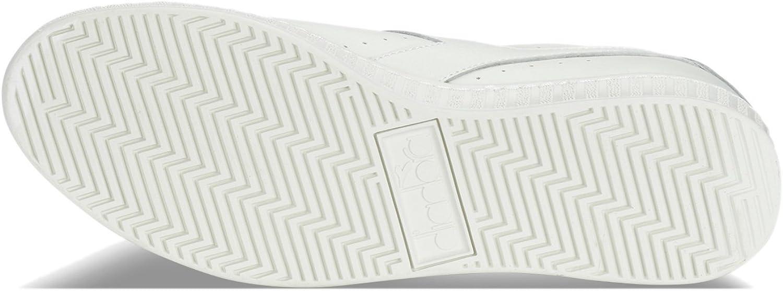 Diadora - Scarpe Sportive Game L Low per Uomo e Donna C1880 Bianco Bianco Nero