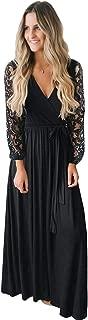Best black floral long dress Reviews