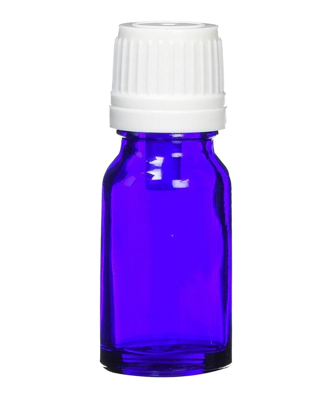 疫病人柄バッグease 遮光ビン ブルー (高粘度用) 10ml ×5本 (国内メーカー)