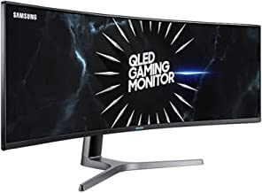 C49RG90 QLED Super Ultra Wide Gaming Monitor with Dual QHD 5120 x 1440
