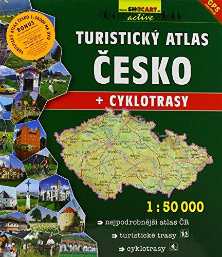 Touristische Wanderatlas Tschechien (1:50.000): + Cyklotrasy. Shocart Atlas