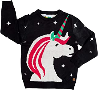 Cute Baby Unicorn Christmas Sweater - Ugly Christmas Sweater for Infant