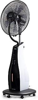 IKOHS TROPWIND Cool - Ventilador de Pie Oscilante con Nebulizador de Agua, Mando a Distancia, Función Ionizador de Aire, 3,4 L, 90W, 3 Modos y Velocidades, Nebulizador Oscilante Ultrasilencioso