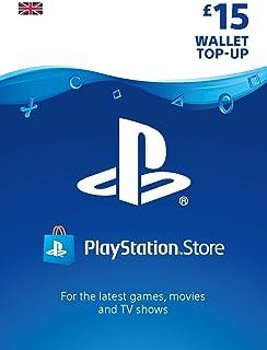 PlayStation PSN Card 15 GBP Wallet Top Up   PSN Download