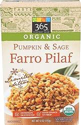 365 Everyday Value, Organic Farro Pilaf, Pumpkin & Sage, 6 oz