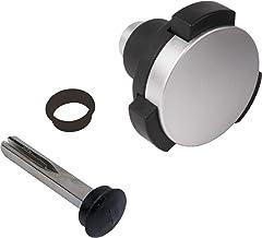 Locinox Deurknop KIDLOC 2,59/54,6/41 mm, VK 8x60 mm, roestvrij staal/poly, zilver/zwart