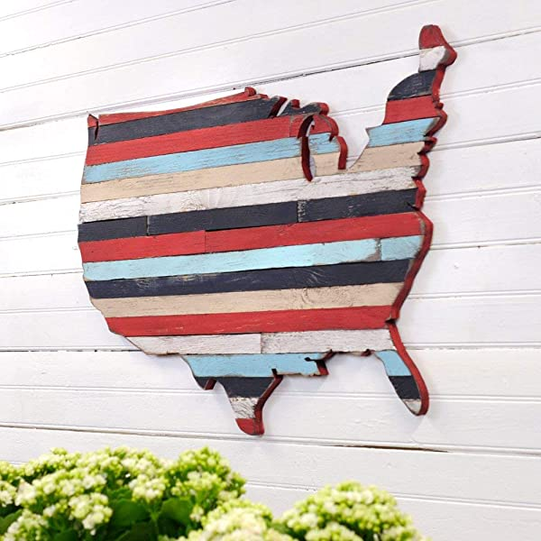 USA Pallet Map Wooden America Pallet Wall Art United State Large Map