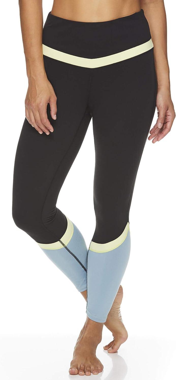 Gaiam Women's High Max 56% OFF Rise Waist store Pants Yoga - Performance Compressi