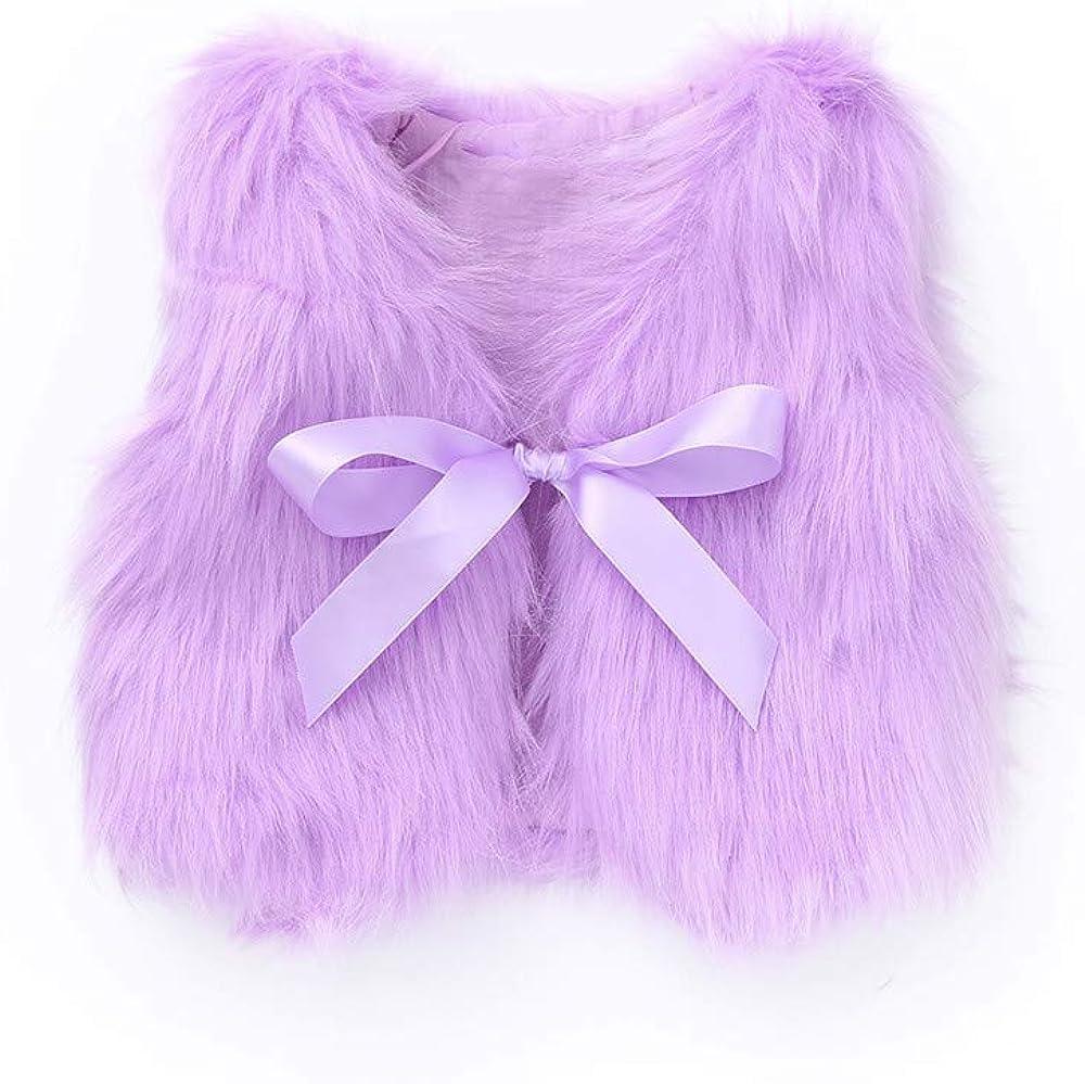 Infant Toddler Baby Girls Waistcoat Fall San Antonio Mall 1-4 Coat Vest Winter Ye Challenge the lowest price of Japan ☆