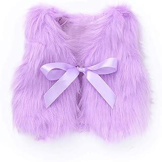 Cahayi Cute Bowknot Girl Dress Coat Thick Warm Toddler Overcoat Outwear Winter