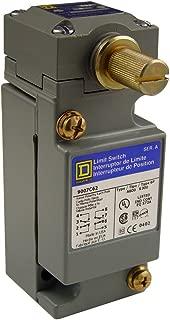 Square D 9007C62B2 Heavy Duty NEMA Limit Switch, Standard Operation, 2 Pole, Std. Rotary Head, CW + CCW Operation
