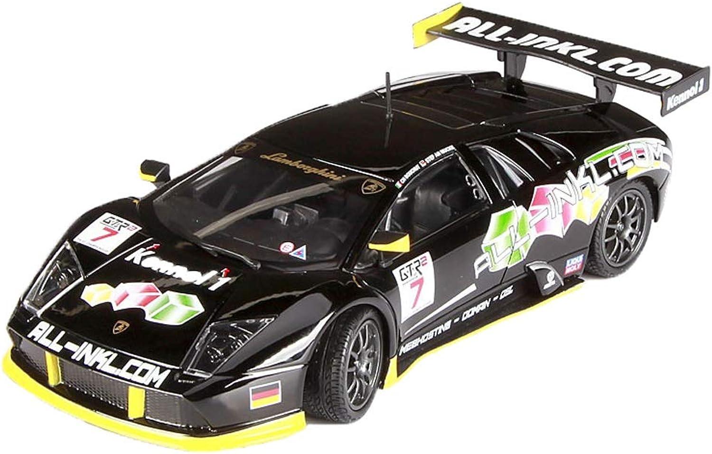 GAOQUN-TOY Modellauto 1 24 Lamborghini Bat FIAGT Rennauto Modelldekoration Kollektion Dekorative Geschenke (Farbe   schwarz, Größe   19.8cm8.9cm6cm)