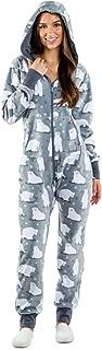 Women's Polar Bear Jumpsuit - Funny Polar Bear Christmas Onesie