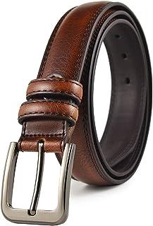 UbdehL Korean Fashion Waist Leather Belts for Men