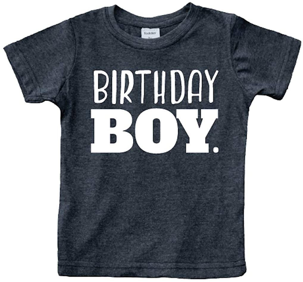 Birthday boy Shirt Toddler Boys Outfit First Happy 2t 3t 4 Year Old 5 Kids 6th