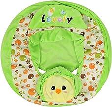 N/W Doasawn - Funda para sofá de bebé, estampado floral, funda para asiento de bebé, soporte para aprender a sentarse, funda (B)