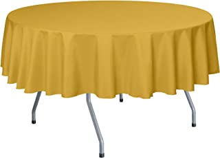 goldenrod tablecloth