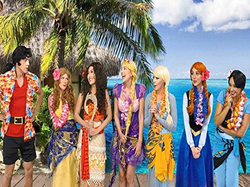 Who Will Stop Gaston. Is It Belle, Elsa, Anna, Rapunzel, Moana Or Jasmine