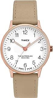 Waterbury Classic Quartz Movement White Dial Ladies Watch TW2T27000