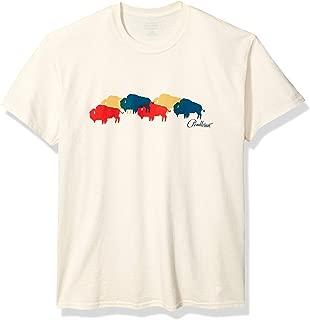 Men's Multi Buffalo Short Sleeve Crew Neck T-Shirt