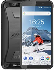 Blackview BV5500 Pro (2019)アウトドア スマートフォン SIMフリースマートフォン本体 4Gスマホ本体 Android9.0 5.5インチ 5MP+Sony 8MPデュアルカメラ3GB+16GB 4400mAh 防水/防塵/耐衝撃 LEDライト 防災用品 技適認証済み 携帯電話 1年間保証付き ブラック