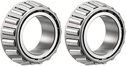 uxcell LM67048 Tapered Roller Bearing Single Cone 1.25 inches Bore 0.66 inches Width 2pcs