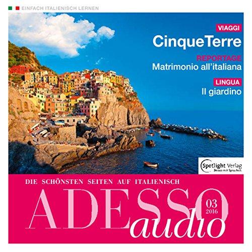 ADESSO Audio - Cinque Terre. 3/2016 audiobook cover art