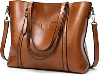 OKASIS Womens Tote Bags, Womens Handbags Ladies Designer Shoulder Bags,Women Retro Tote Bags Top Handle Satchel Handbags