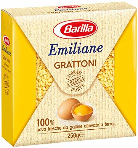 Barilla - Emiliane, Grattoni All'Uovo - 8 pezzi da 250 g [2 kg]